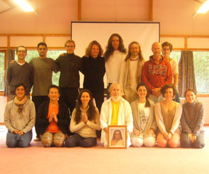 Here is the group who received the 3rd initiation into the 144 Kriyas from M. G.Satchidananda at the                Chateau Fondjouan, near Orleans, France, August 22-29, 2014 (click image to enlarge)