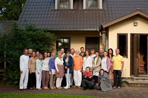 M. G. Satchidananda, 3rd initiation, Lilleoru, Estonia, August 21, 2014  (click image to enlarge)