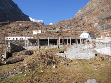 Badrinath Ashram Construction - 11-2011 - 1
