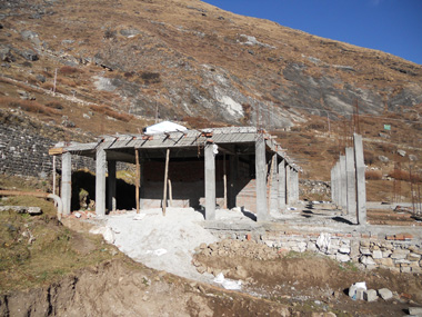 Badrinath Ashram Construction - 11-2011 - 3