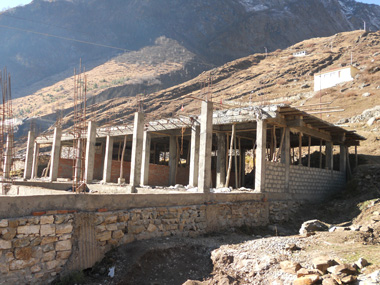 Badrinath Ashram Construction - 11-2011 - 4