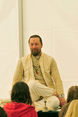 Ishvarananda Teaching